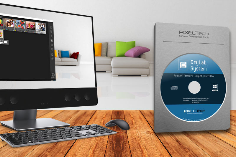 oprogramowanie dls drylab system printer