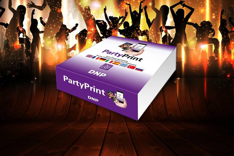 oprogramowanie dnp mobile party print