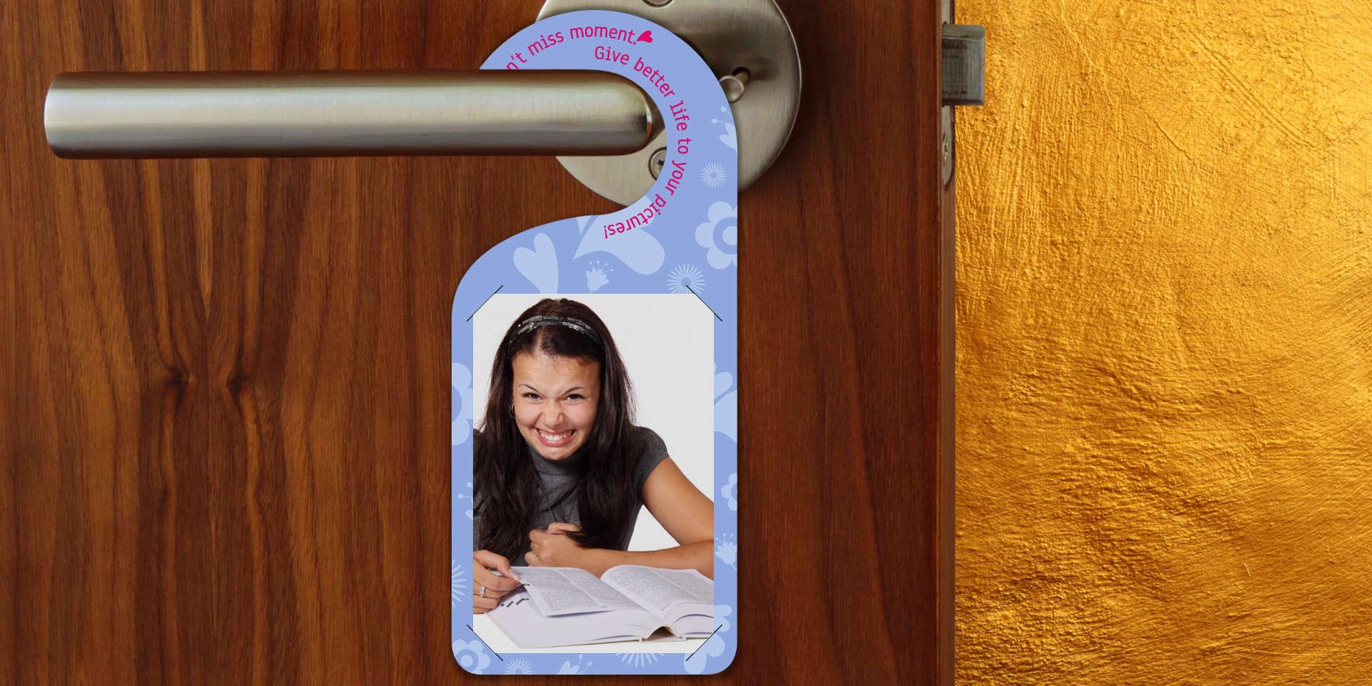 fotozawieszka na drzwi