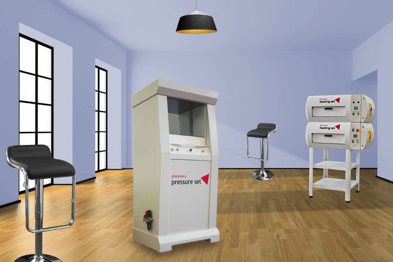 urządzenia pomocnicze do produkowania fotoksiążek