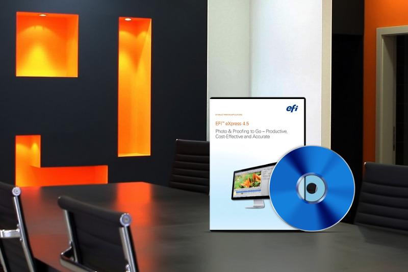 efi colorproof express software box